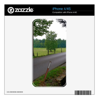 Cades Cove The Great Smoky Mountains Skins For iPhone 4S