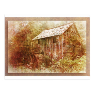 Cade's Grist Mill Postcard