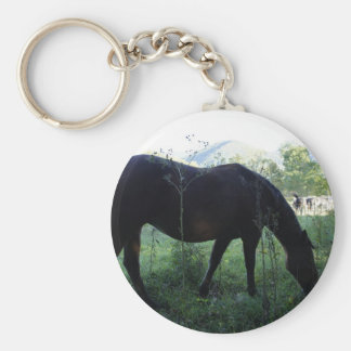 Cades Horse Keychain