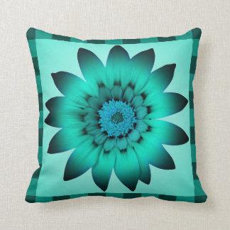Cadet Blue Flower - Pillow