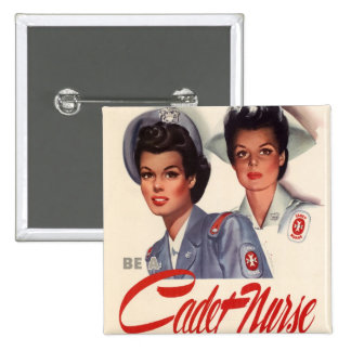 Cadet Nurse Button