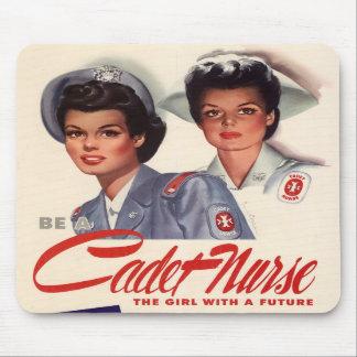 Cadet Nurse Mouse Pads