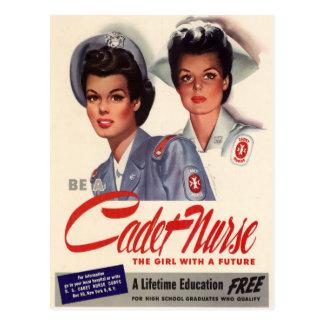 Cadet Nurse Postcard