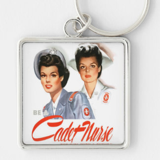 Cadet nurse Premium Square Keychain