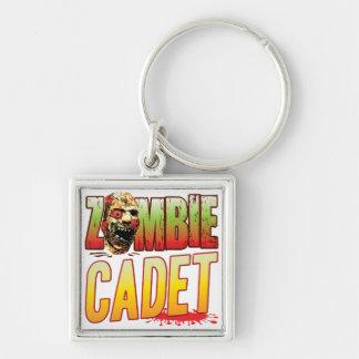 Cadet Zombie Head Key Chain