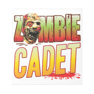 Cadet Zombie Head Notepads