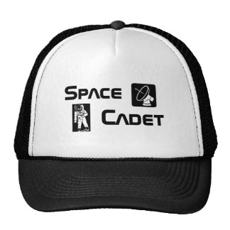 Cadete del espacio gorras de camionero