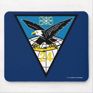 """Cadete Sqadron de USAFA 24"""" cojín de ratón de los Alfombrilla De Ratón"""