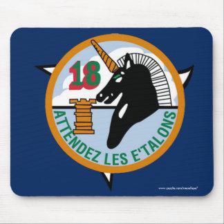 """Cadete Squadon de USAFA 18"""" cojín de ratón de Tapete De Ratón"""