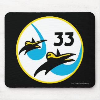 """Cadete Squadon de USAFA 33"""" cojín de ratón de Tapetes De Ratón"""