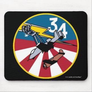 """Cadete Squadon de USAFA 34"""" cojín de ratón de Alfombrilla De Raton"""