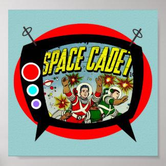Cadete TV del espacio Póster