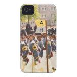 Cadetes de West Point adaptables iPhone 4 Carcasa