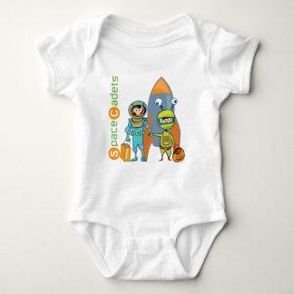 Cadetes del espacio de Halloween Mameluco De Bebé