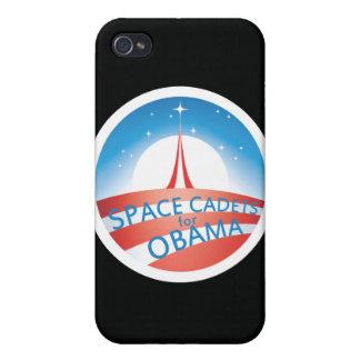 Cadetes del espacio para el caso del iPhone de Oba iPhone 4 Fundas