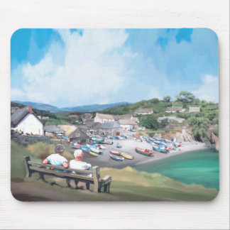 Cadgwith, Cornwall Original Art Mouse Pad