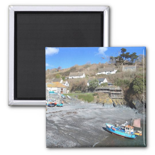 Cadgwith in Cornwall Magnet