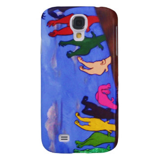Cadilac ranch on it's side! galaxy s4 case