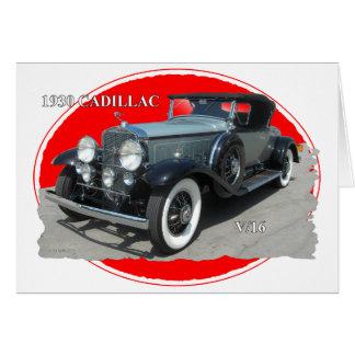 CADILLAC 1930 V/16 CARD