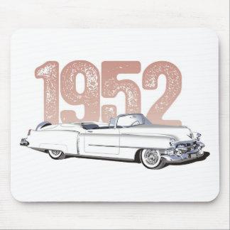 Cadillac 1952 Coupe De Ville, convertible blanco Alfombrillas De Raton