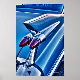 Cadillac 1959 impresiones