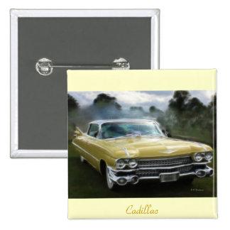 Cadillac amarillo pins