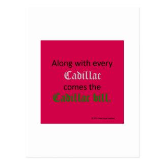 Cadillac Bill Postcard