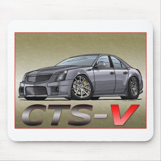 Cadillac CTS_V Alfombrilla De Ratón