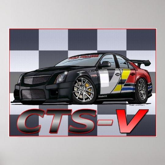 Cadillac CTS_V Poster