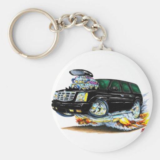 Cadillac Escalade Black Truck Keychains