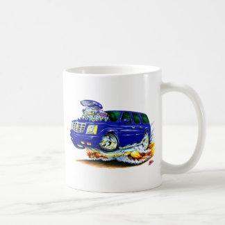 Cadillac Escalade Blue Truck Coffee Mug