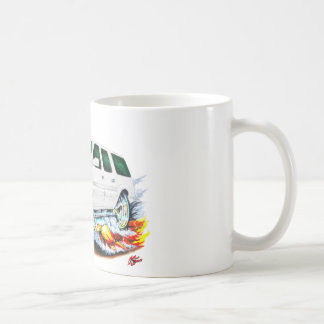 Cadillac Escalade White Truck Coffee Mug