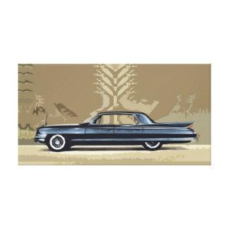 Cadillac Fleetwood 1961 Sesenta-Especial Lona Estirada Galerias