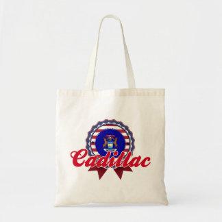 Cadillac, MI Canvas Bag