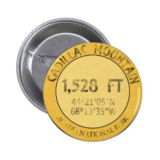 Cadillac Mountain 2 Inch Round Button