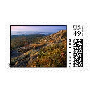 Cadillac Mountain Acadia National Park Stamp