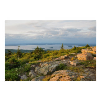 Cadillac Mountain Acadia National Park Poster