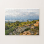 """Cadillac Mountain Acadia National Park Puzzle<br><div class=""""desc"""">Beautiful item with the spectacular view from the summit of Cadillac Mountain in Acadia National Park,  Maine. It&#39;s one of the many highlights of the park and is well worth the trip up the winding roads.</div>"""