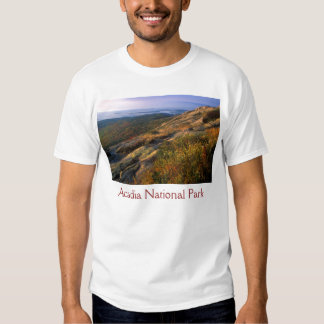 Cadillac Mountain, Acadia National Park Tee Shirt