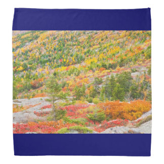 Cadillac Mountain in Fall, Acadia National Park Bandana
