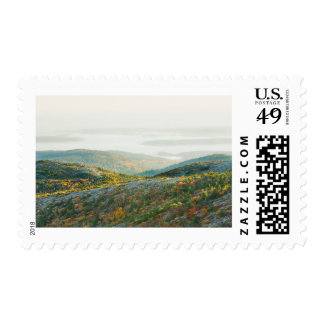 Cadillac Mountain in Fall, Acadia National Park Postage