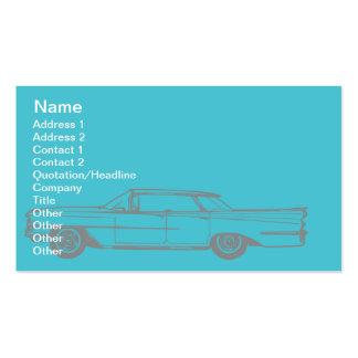 Cadillac - negocio tarjetas de visita