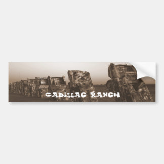 Cadillac Ranch Bumper Sticker