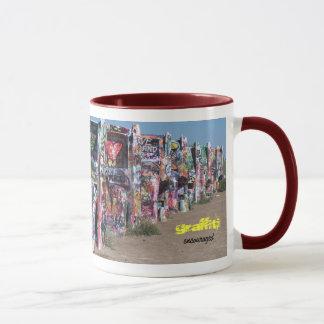Cadillac Ranch mug