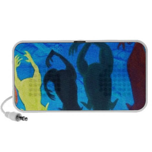 Cadillac Ranch Travelling Speaker