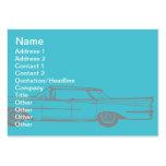 Cadillac - rechoncho tarjeta de negocio