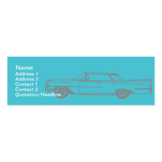 Cadillac - Skinny Business Card Templates