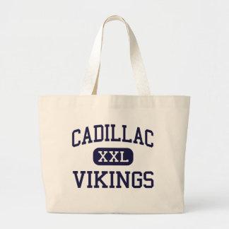 Cadillac - Vikings - High - Cadillac Michigan Tote Bag