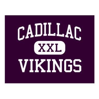 Cadillac - Vikings - High - Cadillac Michigan Postcard