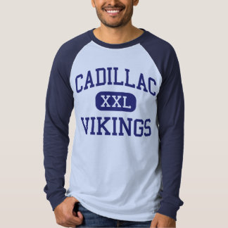 Cadillac Vikings Middle Cadillac Michigan T Shirt